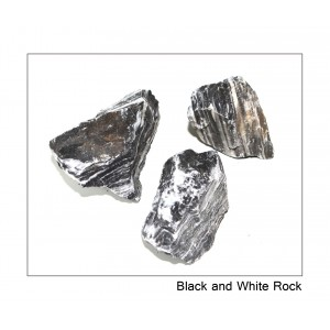 Black and White layer rock